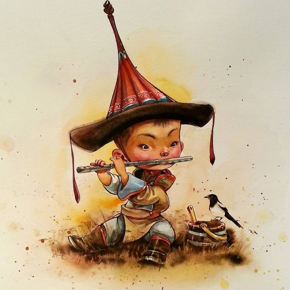 Монгольские сказки с картинками