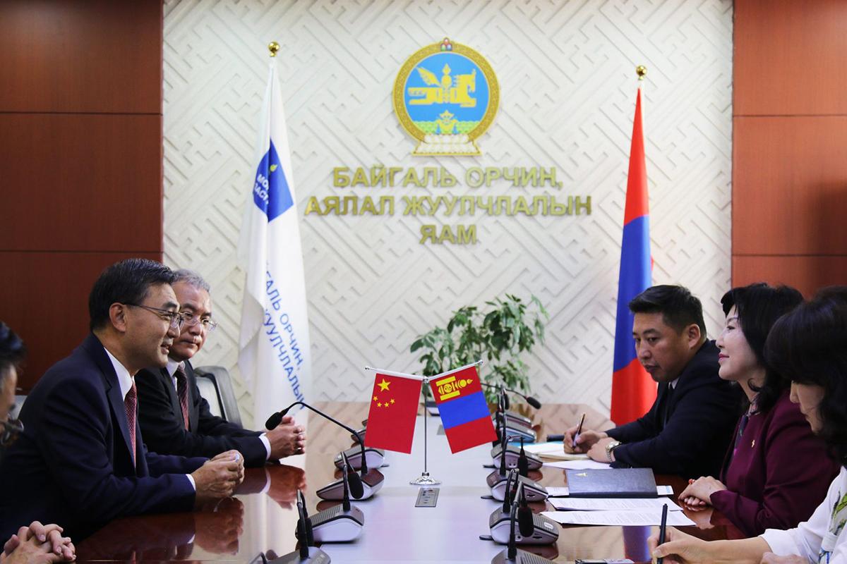 Чай Веньруй: Монгол-Хятадын аялал жуулчлалын салбарын хамтын ажиллагааг улам хөгжүүлэхийн төлөө ажиллана