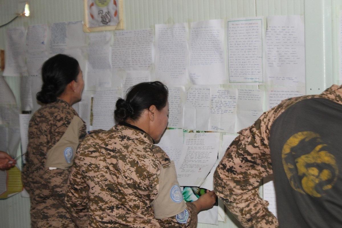 8fptafb6 Сурагчийн ширээнээс Судан руу илгээсэн захидал